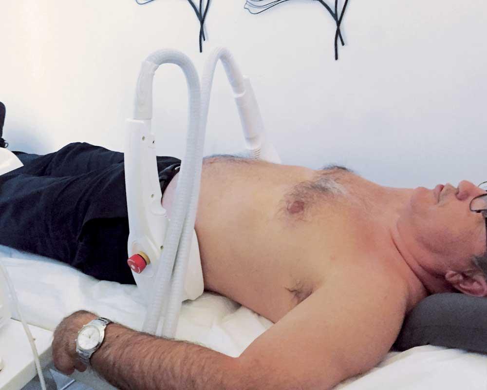 La cryolipolyse à Livry Gargan, maigrir par le froid, dr Wycisk